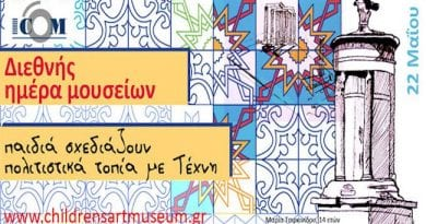 Παγκόσμια Ημέρα Μουσείων «Μουσεία και πολιτιστικά τοπία», το Μουσείο Παιδικής Τέχνης