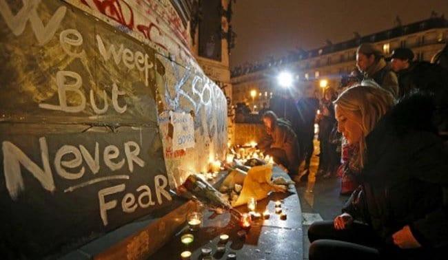 Μην φοβάσαι το Παρίσι | Marianna Lagoumidi #ParisAttack