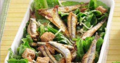 Σαρδέλα με μαρούλι σαλάτα | ΜΑΡΙΑΝΝΑ ΛΑΓΟΥΜΙΔΗ | ΔΕΠ-Υ