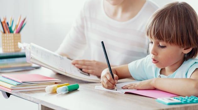 Boy - homework