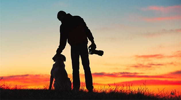 photographer-with-dog