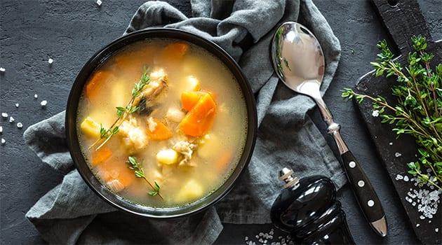 Σκορπίνα σούπα