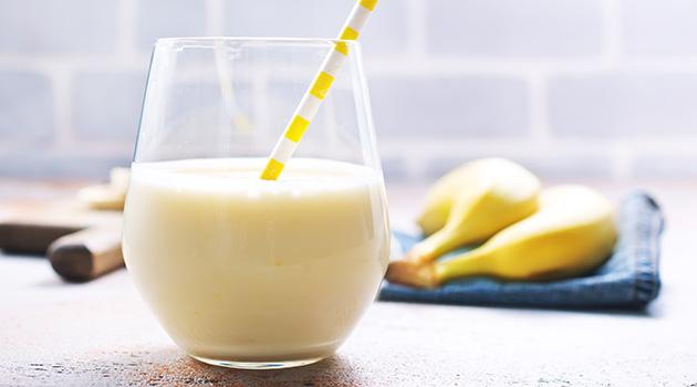 Smoothie με ακτινίδιο-μήλο-μπανάνα